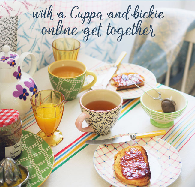 Harrisons Little Wings Cuppa and Bickie online get together for peer support meetings