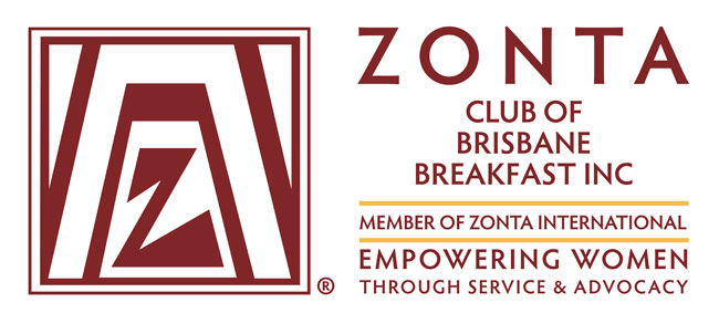 Thank you Zonta Club of Brisbane