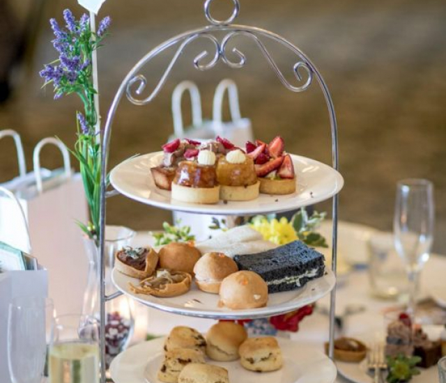 Secret Garden High Tea Event held by Harrisons Little Wings