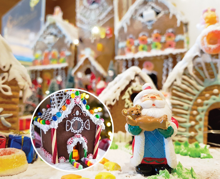 Gingerbread House Party Kit includes Traditional, Gluten Free and Chocolate (Yum) available from Harrisons Little Wings.