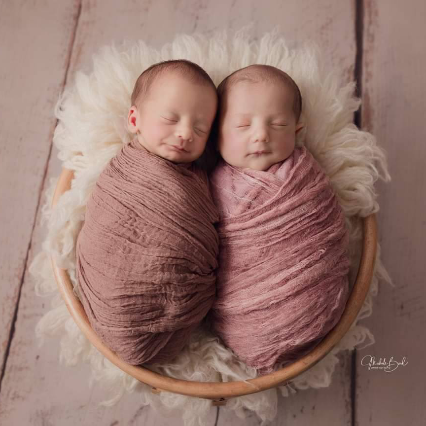 """Meet Valencia and Elijah. We provided support to their lovely mum during her high risk pregnancy. How precious is this end result 💞 """"I just wanted to say a HUGE thank you for all that you did for our family in the end stages of my pregnancy. It helped us out greatly and definitely helped my stress levels! I don't know what I would have done or how I would have coped had I not have been referred to your service, so thank you for accepting and giving an immense amount of support"""""""